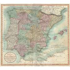 Map Of Spain And Portugal Popular Painting Portugal Buy Cheap Painting Portugal Lots From