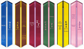 custom graduation sashes custom graduation sashes by pride sash personalize your own sash