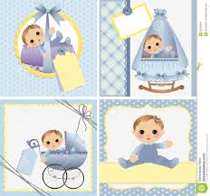baby card templates for baby card royalty free stock image image