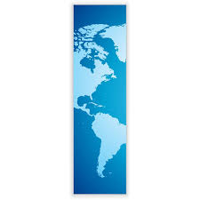 World Map Poster Large New Large Wall Lamp In Vertical Format With Motive World Map