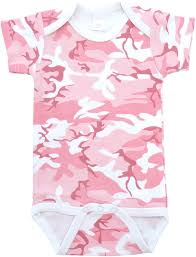 camo wall letter decals select size color baby milano pink camo bodysuit short sleeve