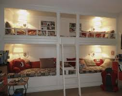 Bunk Bed Lights 25 Functional And Stylish Bunk Beds With Lights Digsdigs