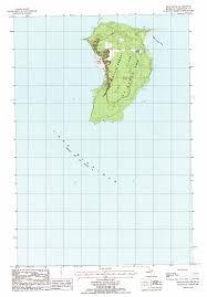 Topographic Map Of Michigan by High Island Michigan Wikipedia