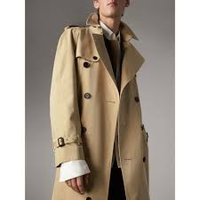 the westminster extra long heritage trench coat in honey men