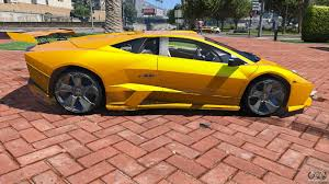 Lamborghini Murcielago 2008 - 2008 lamborghini reventon 1 0 for gta 5