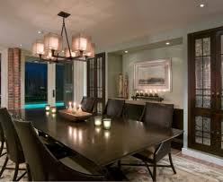 Chandeliers Dining Room by Best Linear Dining Room Lighting Contemporary Home Design Ideas
