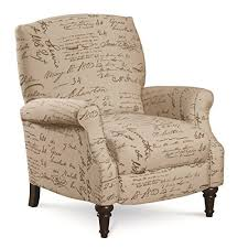 fabric recliner chairs amazon com