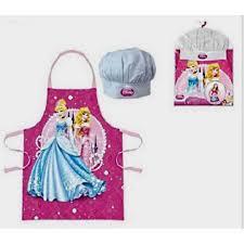 princesse cuisine set petit chef princesse disney tablier toque 3 8 achat vente