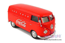 vw transporter truck 430004 1 43 scale motor city coca cola