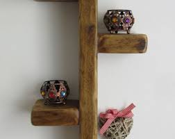 Thick Floating Shelves by Thick Wood Shelf Etsy
