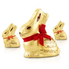 easter chocolate bunny gold bunny lindt chocolate