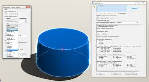 calculate internal fluid volume using the intersect tool
