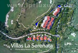 Nayarit Mexico Map by La Serenata Luxury Golf Villas At The Punta Mita Resort