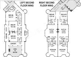 Grandeur 8 Floor Plan by Balmoral Castle Plans Luxury Home Plans