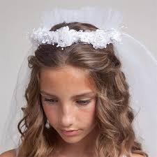 cute hairstyles for first communion first communion hairstyles with veil hairstyles by unixcode