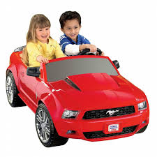 frozen mustang power wheels 12v battery toy ride on ford mustang red shop