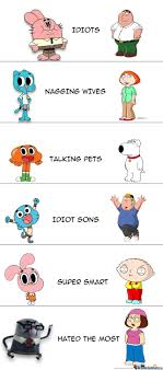 Amazing World Of Gumball Meme - the amazing world of gumball and family guy by pokemonmemester