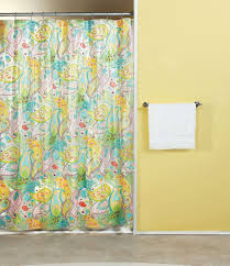 bathroom cool colorful fabric abstract unique shower curtain bathroom cool colorful fabric abstract unique shower curtain ideas with yellow painted wall and white