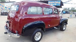 chevrolet suburban red 1951 chevrolet suburban for sale 1782823 hemmings motor news