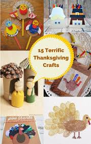 terrific and fun thanksgiving crafts for kids activities for