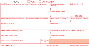 what is irs form 1099 oid
