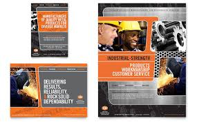 engineering brochure templates free manufacturing flyers templates designs