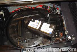 mercedes benz w211 battery removal 2003 2009 e320 e500 e55