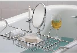 si e confort pour caddie bathtub caddy sharper image