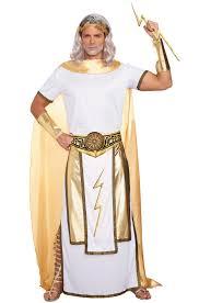god of thunder zeus costume men halloween ancient greek sz