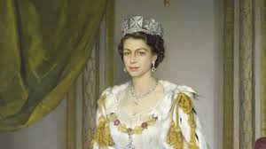 royal collection queen elizabeth ii in coronation robes sir