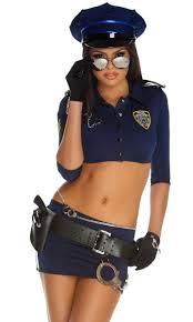 Womens Halloween Costumes Womens Forplay Police Women Halloween Skirt Costume