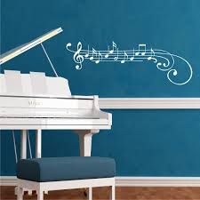 treble clef and notes wall quotes wall art decal wallquotes com treble clef and notes piano music wall art decal