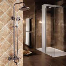 Bathroom Shower Systems Chester 8 Rainshower Tub Spout Exposed Shower System Orb