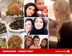 kardashians and jenners separate thanksgivings tmz
