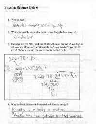 Bill Nye Matter Worksheet 2008 3rd Quarter Assignments 6th Grade Physical Science