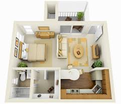 Apartment Layout by Extraordinary Idea Studio Apartment Setup Ideas Stylish Design 17