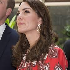 princess kate wears alexander mcqueen dress in mumbai popsugar