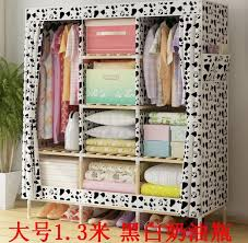 Cabinet Assembly Oxford Wood Wooden Cabinet Assembly Bold Cloth Folding Simple