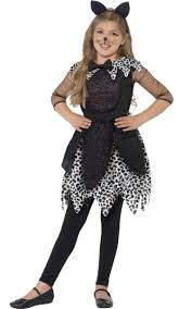 cat costume for halloween black cat girls costume midnight cat kids halloween costume