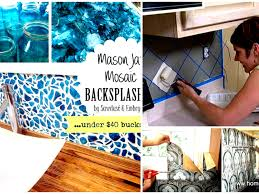 kitchen 14 diy backsplash ideas for kitchens diy mosaic kitchen