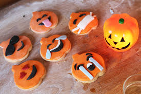 Sugar Cookies For Halloween Recipe Gluten Free Halloween Emoji Cookies