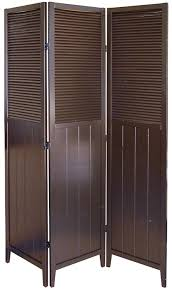 amazon com shutter door 3 panel room divider kitchen u0026 dining