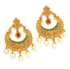 buttalu earrings chandbali earrings buttalu hangings gold jewelry