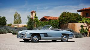 mercedes 300sl 1955 mercedes 300 sl gullwing and 1957 300 sl roadster pair