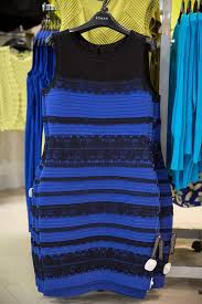 the dress white and gold or blue and black frock divides the