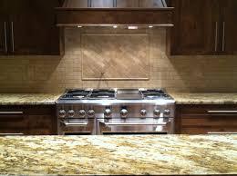 stone tile kitchen backsplash home decoration ideas