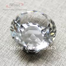 kitchen cabinets knobs or handles aliexpress com buy new 20pcs lot clear crystal sofa button decor