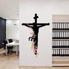 buy decals design u0027jesus christ floral religion christian cross