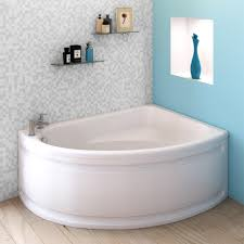 orlando corner bath with panel right hand option 1500 x 1040mm
