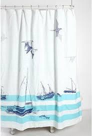 Nautical Bathroom Curtains Bathrooms Shower Curtains Nautical Home Decor